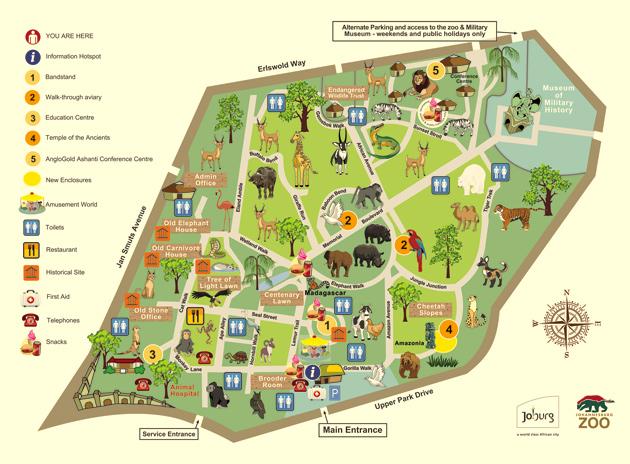 Zoos Johannesburg