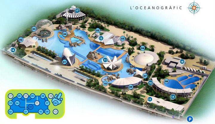 Zoos valencia oceanographic Entradas aquarium valencia
