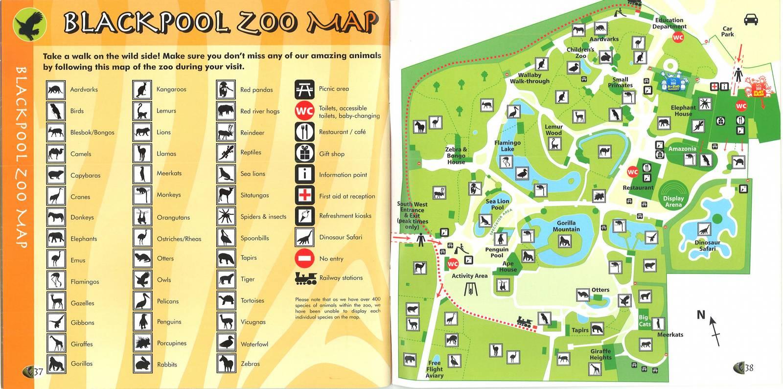 Zoos Blackpool Zoo