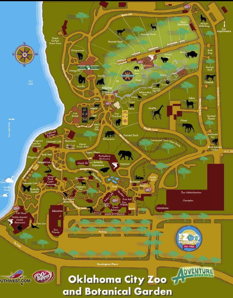 Zoos oklahoma city Garden city zoo
