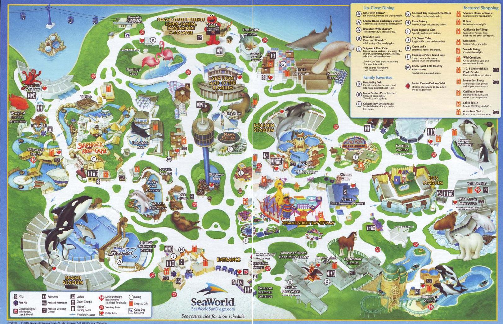 Zoos San Diego Seaworld