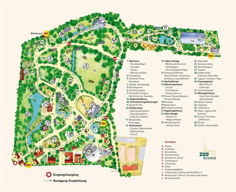 Zoos Krefeld