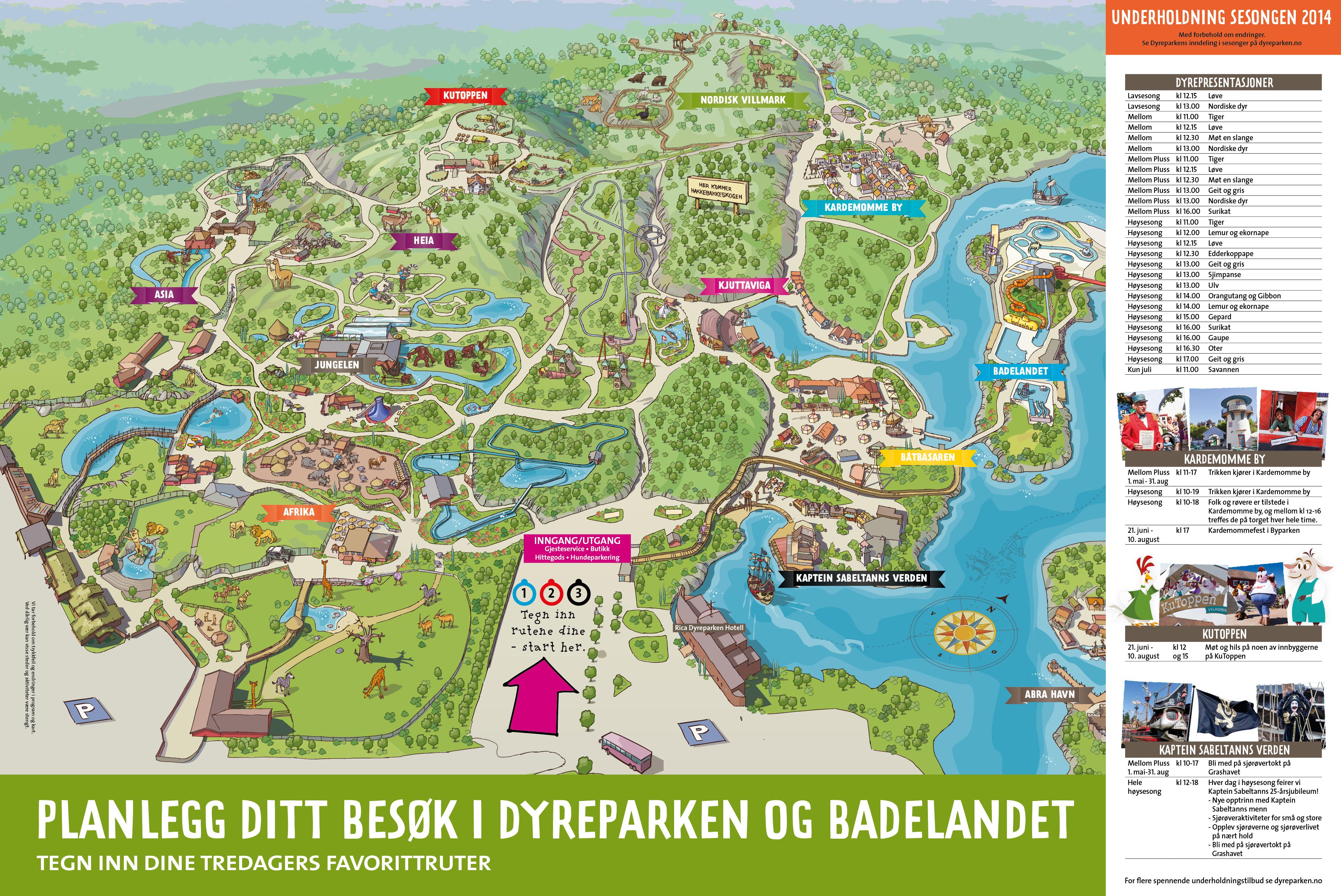 kart over abra havn Zoos   Kristiansand * kart over abra havn