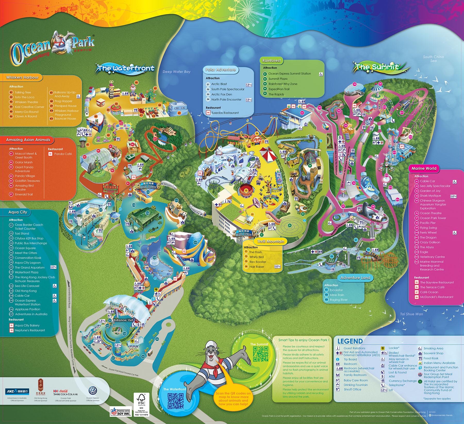 Zoos hong kong ocean park ocean park map 2010 map 2015 city hong kong gumiabroncs Image collections