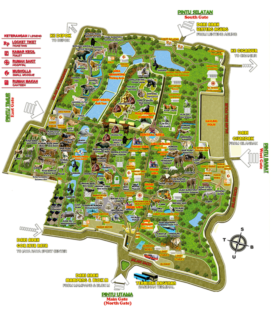 Jakarta Kebun Binatang Ragunan