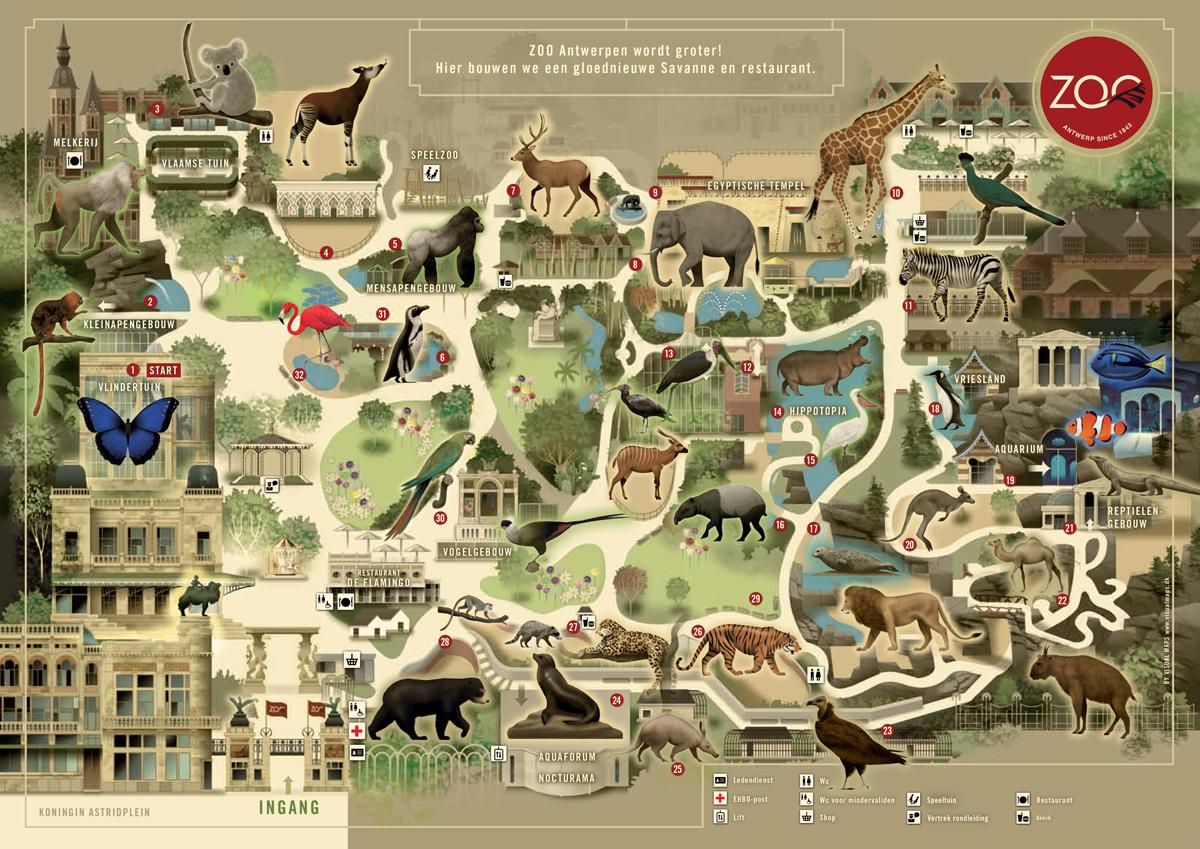 Zoos antwerpen zoo for Le jardin zoologique de berlin
