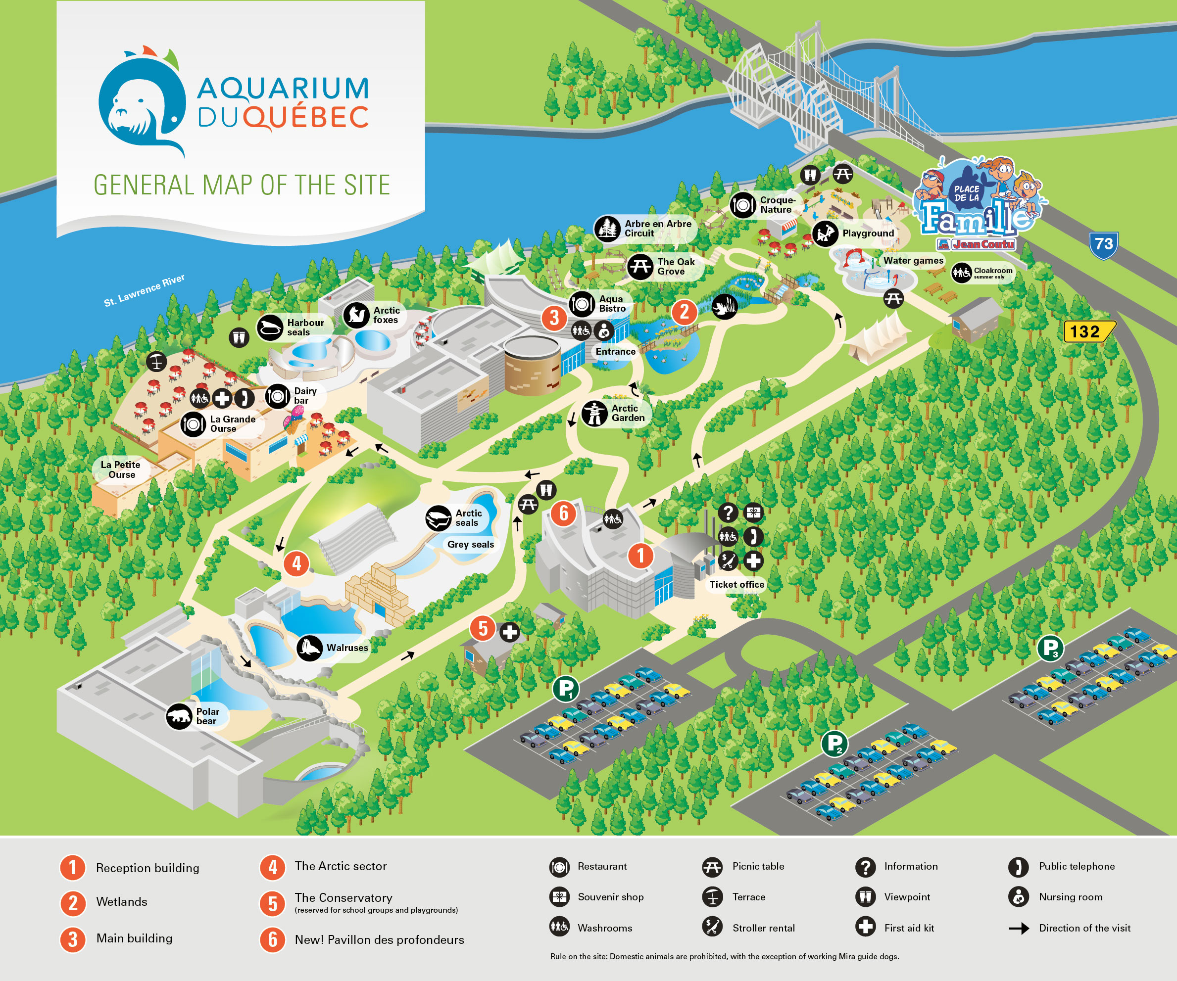 Zoos Sainte Foy QC – Quebec Tourist Attractions Map