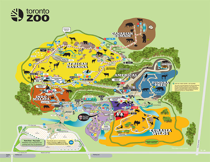 Zoos Toronto Zoo ON
