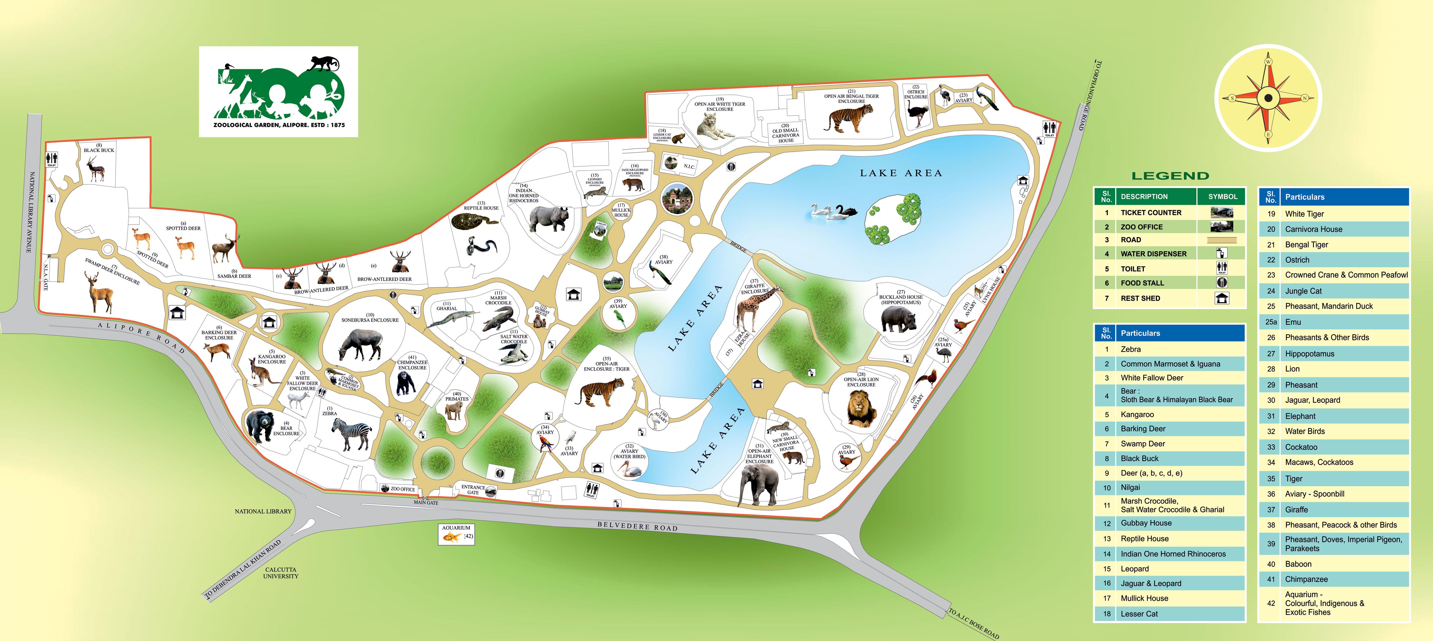 Alipore Map | Alipore, Kolkata Google Map | Location Map ...