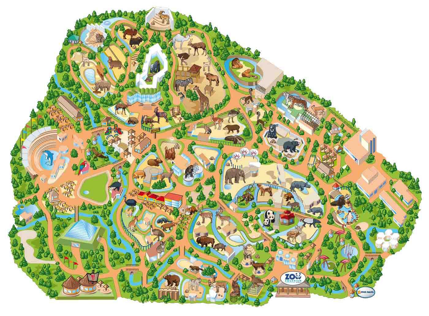 Zoos madrid zoo for Aquarium valencia precio