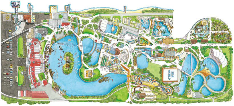 Zoos gold coast map 2011 map 2015 city gold coast gumiabroncs Choice Image