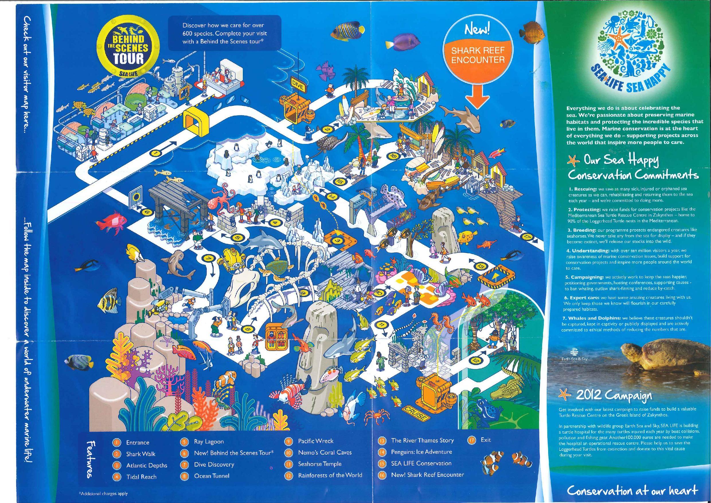 Zoos London Sealife