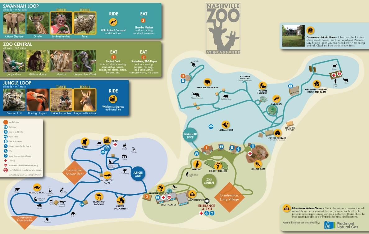 Zoos Nashville Zoo